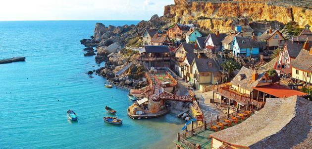 بلدة سليمة في جزيرة مالطا