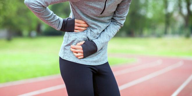 woman on running